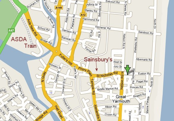 Contact Senglea Lodge Great Yarmouth UK